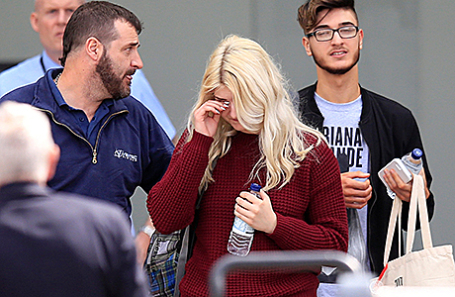 Пострадавшие от теракта в Манчестере.