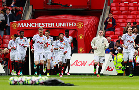 Игроки команды «Манчестер Юнайтед».