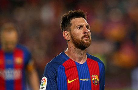 Футболист Лионель Месси.