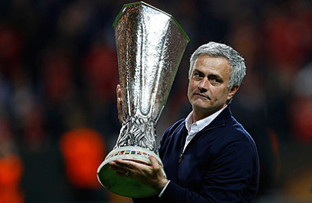 Футбольный тренер Жозе Моуринью.