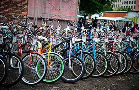 Благотворительная «Велобарахолка» в столицеРФ: продай велосипед— помоги детям
