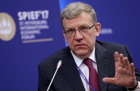 Алексей Кудрин на ПМЭФ-2017.