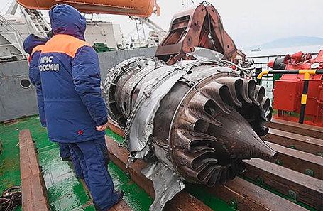Ккрушению Ту-154 над Чёрным морем привели ошибки пилотирования