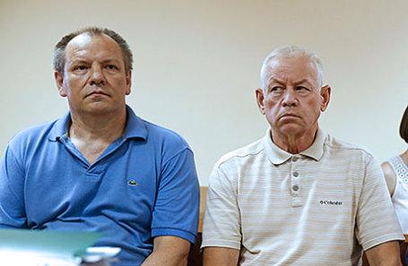 Инженер Владимир Леденев, водитель Владимир Мартыненко (слева направо).