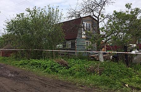 Дом в садоводческом товариществе «50 лет Октября» в поселке Редкино, где произошло массовое убийство девяти человек. Тверская область, 4 июня 2017.