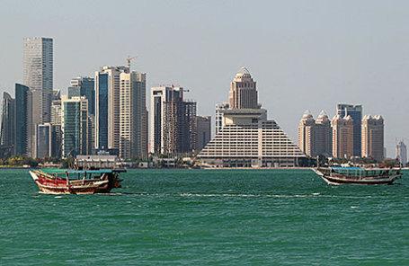 Вид на Доху.