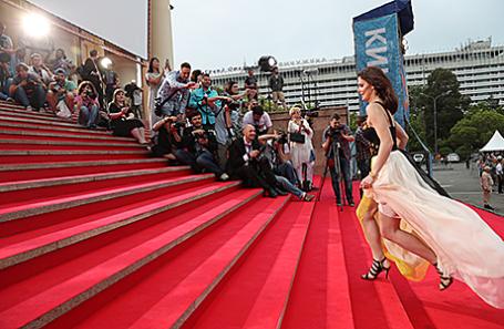 Актриса Елизавета Боярская во время церемонии открытия XXVIII Открытого фестиваля российского кино «Кинотавр», 7 июня 2017.