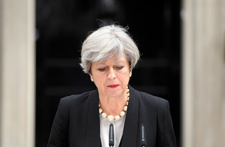 Премьер-министр Великобритании Тереза Мэй.