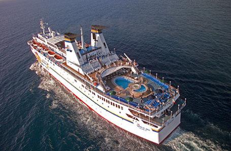 «Князь Владимир» - круизное судно.