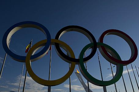 Виды Сочи во время зимней Олимпиады-2014.
