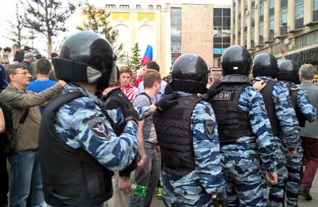 Москва, Тверская улица, 12 июня 2017 года.