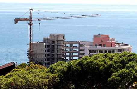 Строительство жилья на Крымском полуострове.