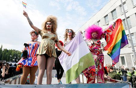 «Марш равенства» ЛГБТ в Киеве.