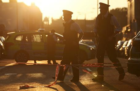 После нападения в Лондоне.