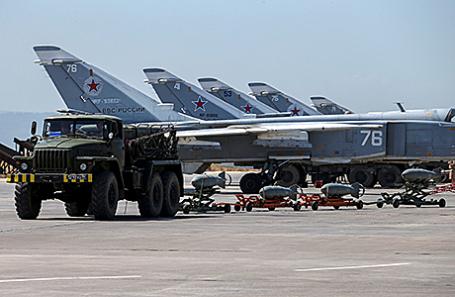 Российская военная техника в Сирии.