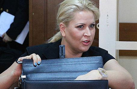 Бывший глава Департамента имущественных отношений Минобороны РФ Евгения Васильева.