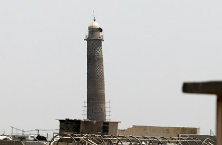 Минарет мечети ан-Нури.