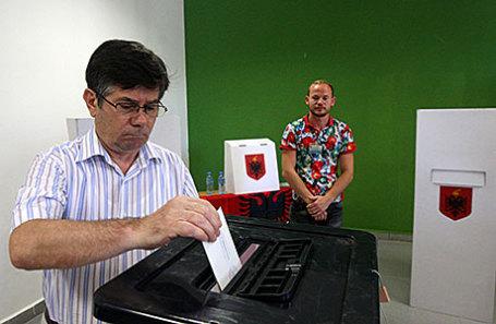 Выборы в Албании.