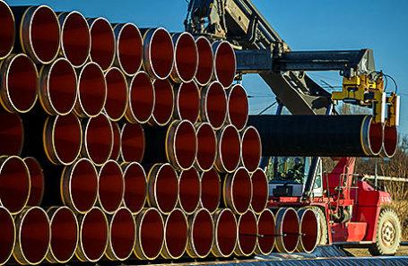 Трубы для газопровода «Северный поток - 2».