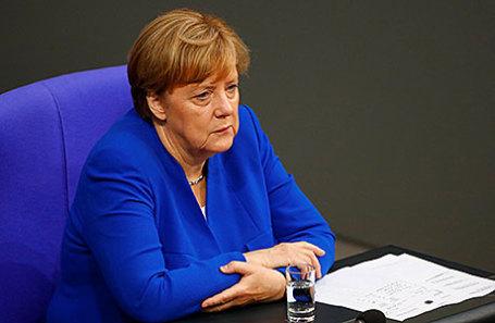 Федеральный канцлер Германии Ангела Меркель.