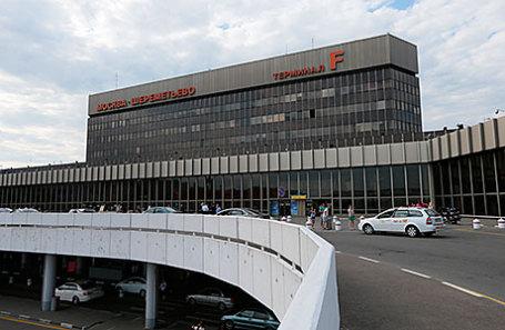 Вид на здание аэропорта «Шереметьево».