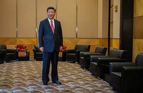 Меркель встретится спрезидентом Китайская республика СиЦзиньпином