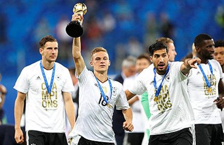 Игроки сборной Германии по футболу.