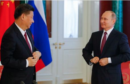 Си Цзиньпин и Владимир Путин.