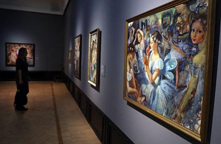 Выставка «Зинаида Серебрякова» в Третьяковской галерее.