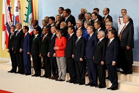 Саммит G20 в Гамбурге.