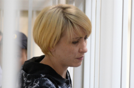 Ольга Алисова, обвиняемая по делу о гибели шестилетнего мальчика.