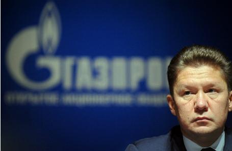 Глава компании «Газпром» Алексей Миллер.