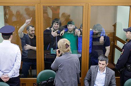 Рассмотрение уголовного дела об убийстве политика Бориса Немцова в Москве.
