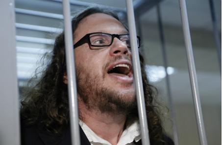 Сергей Полонский на вынесении приговора.