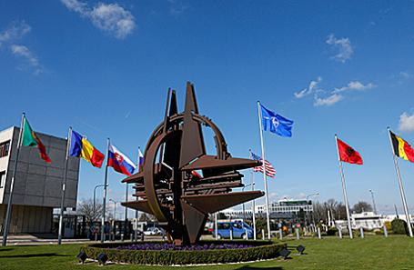 Штаб-квартира НАТО в Брюсселе, Бельгия.