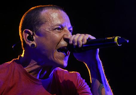 Вокалист группы Linkin Park Честер Беннингтон.