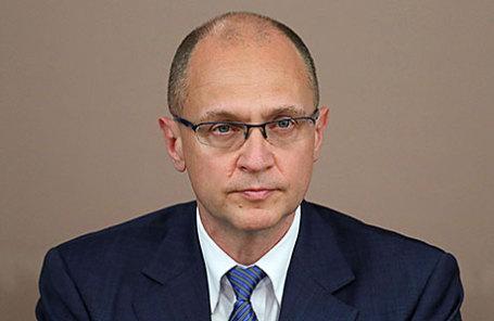 Первый заместитель руководителя администрации президента РФ Сергей Кириенко.