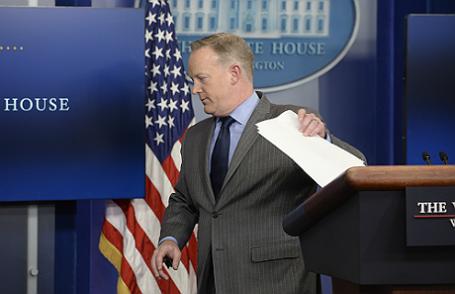 Брифинг пресс-секретаря Белого дома Шона Спайсера.