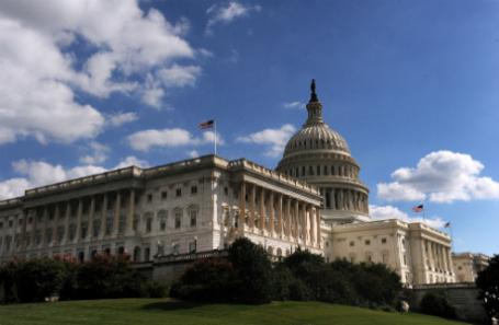 США. Вашингтон. Здание Конгресса США.