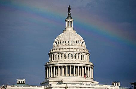 Здание Капитолия в Вашингтоне.