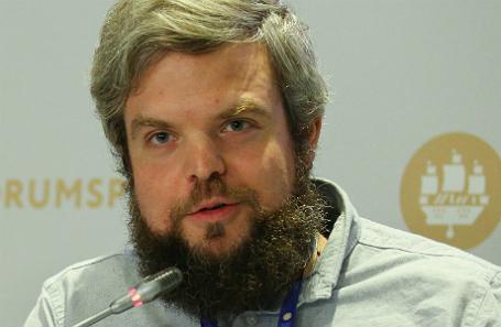 Основатель фермерского кооператива LavkaLavka Борис Акимов.
