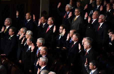 Заседание палаты представителей Конгресса США.