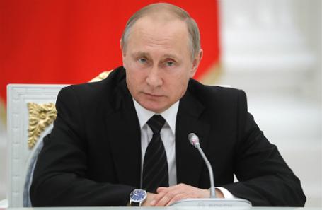 Президент России Владимир Путин. Фото Михаил Метцель/ТАСС