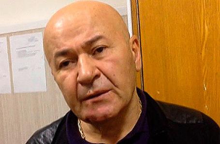 Криминальный авторитет Резо Бухникашвили.