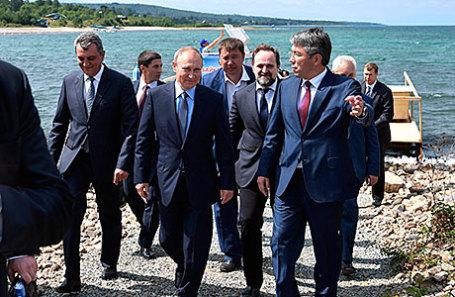 В ходе рабочей поездки в Бурятию Владимир Путин посетил Байкальский государственный природный биосферный заповедник.