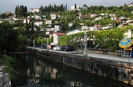 Гагра, Абхазия.