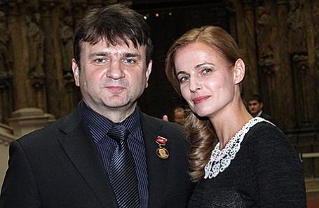 Тимур Кизяков с супругой Еленой.