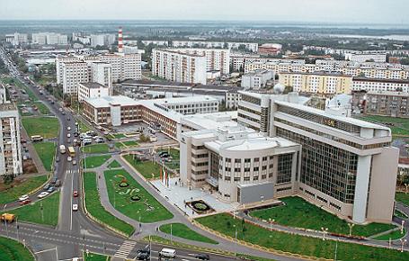 Ханты-Мансийский АО .Город Сургут.