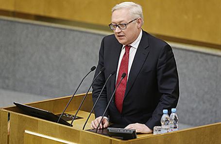 Сергей Рябков.