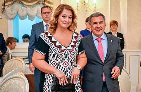 Президент Татарстана Рустам Минниханов и его супруга Гульсина.